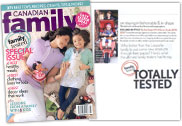 Canadian Family Magazine Cover